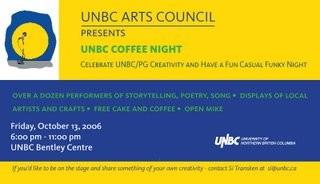 UNBC Coffee Night