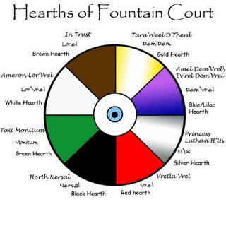 Hearths of Fountain Court by Catherine T. Vogt