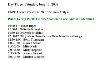 Readings at Bridges Festival by Okal Rel Legacies anthology contributors
