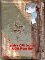 Notebook from Mel for Lynda to keep notes about the Okal Rel Universe