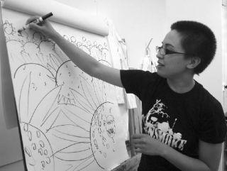 Artist Michelle Milburn teachs comic creation