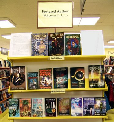 Okal Rel saga books featured at the World's Biggest Bookstore in Toronto