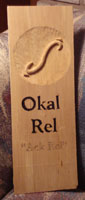 Okal Rel Universe Plaque