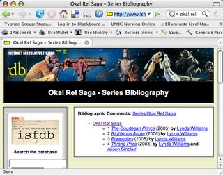 Okal Rel Series Bibliography